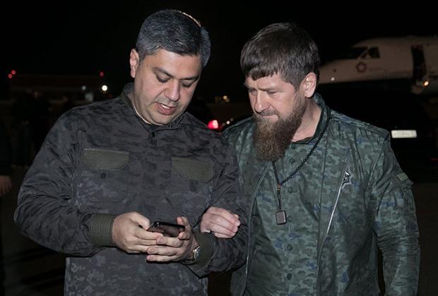 Артур Ванецян и Рамзан Кадыров