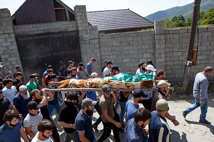 Похороны Зелимхана Хангошвили