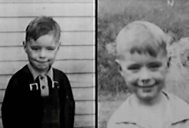 Детские фотографии близнецов Джимов