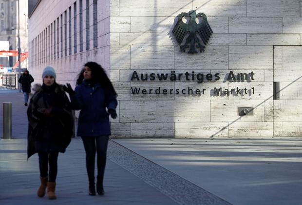 Здание Министерства иностранных дел Германии