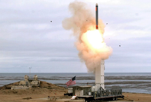 Испытания американской крылатой ракеты 18 августа