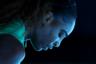 Серена Уильямс во время четвертьфинала Australian Open. Американка не справилась с представительницей Чехии Каролиной Плишковой, несмотря на то что лидировала в решающем сете со счетом 5:1. Вылет американской теннисистки стал одним из главных апсетов года.