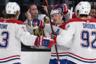 Фанат «Лас-Вегас Голден Найтс» раздосадован тем, что хоккеисты «Монреаль Канадиенс» сравняли счет за две минуты до конца третьего периода. На этом фото он еще не знает, что дальше будет хуже: в овертайме его команда уступит.