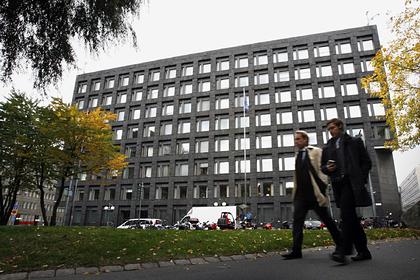 Здание центрального банка Швеции