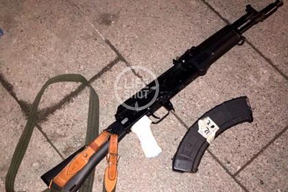 Карабин «Сайга», из которого, предположительно, стрелял Евгений Манюров