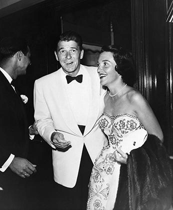 Свадьба Рейгана и Нэнси Дэвис, 1952 год