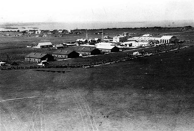 Аэродром Ласнамяги. Фотография 1933 года