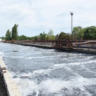 Очистные сооружения МУП «Водоканал» в поселке Ворошнево