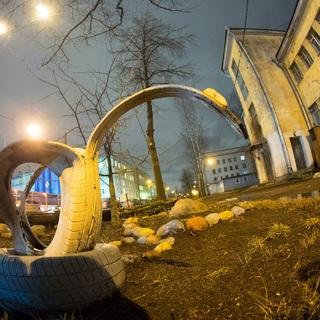 Клиническая инфекционная больница имени С.П. Боткина на улице Миргородской