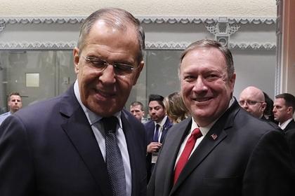 Лавров и Помпео на Генассамблее ООН в сентябре