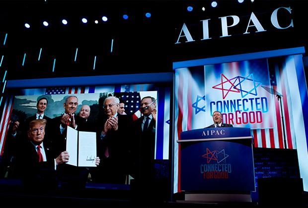 Госсекретарь Майк Помпео на конференции AIPAC