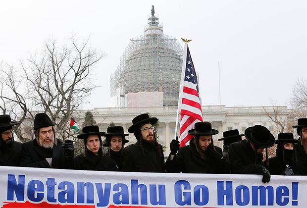 Среди ортодоксальных евреев США есть общины, не принимающие агрессивной сионистской политики еврейского государства. Они участвуют в антиизраильских демонстрациях вместе с мусульманами и приверженцами «левых» идеологий.