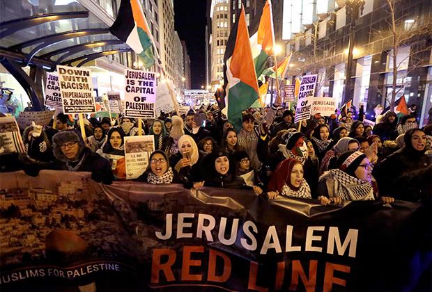 Как правило, протесты против сионизма начинаются в палестинской и арабской среде. Но чаще всего их поддерживают и белые американцы, придерживающиеся прогрессивных взглядов.
