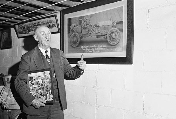 Эрвин Бейкер по прозвищу «Пушечное ядро» в 1951 году