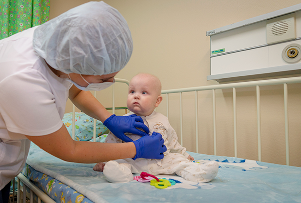 Вот уже шесть месяцев, как Никита живет в больнице