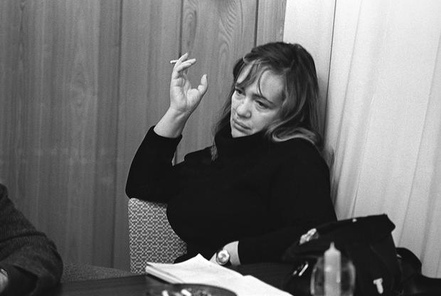 Главный режиссер театра «Современник» Галина Волчек в 1974 году