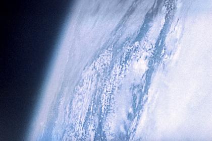 Вид планеты Земля из космоса