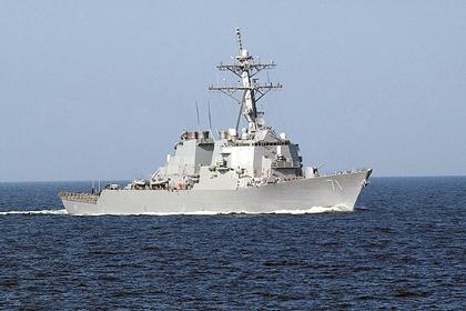 Американский ракетный эсминец «Росс» (USS Ross)