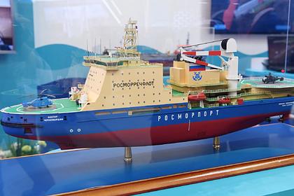 Макет ледокола «Виктор Черномырдин»
