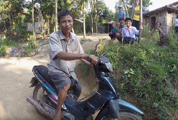 Хо Ван Ланг после возвращения в деревню