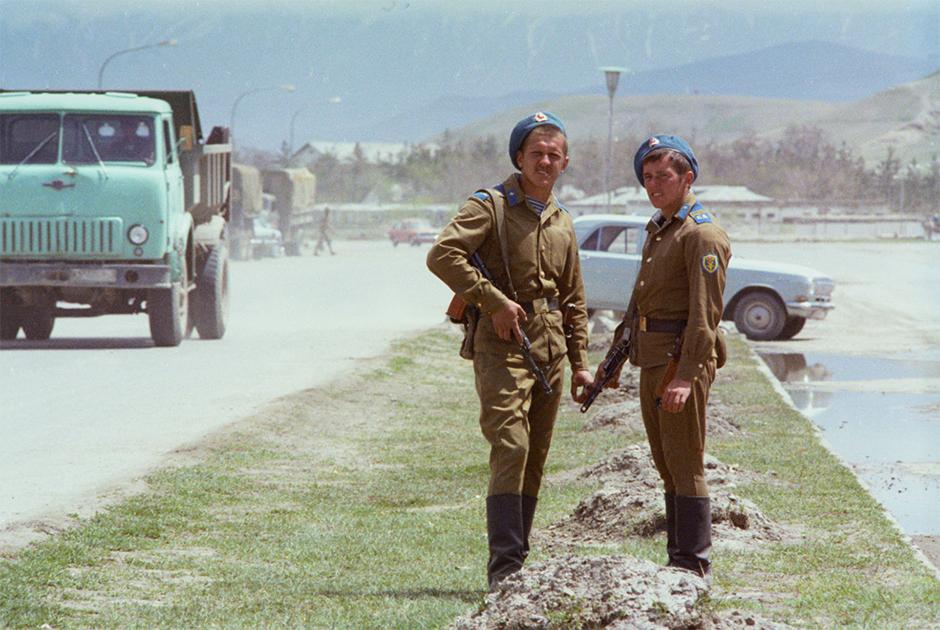 27 апреля 1980 года. Советские солдаты в ДРА, апрель 1980-го.