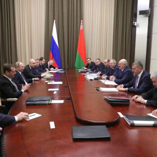 Российско-белорусские переговоры 7 декабря