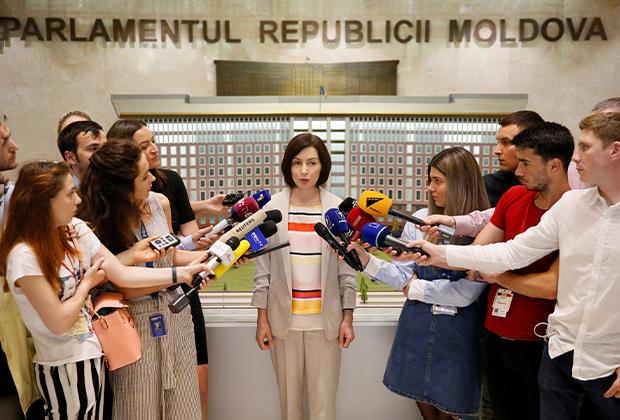Бывший премьер Молдавии Майя Санду