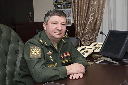 Замначальника Генштаба Халил Арсланов