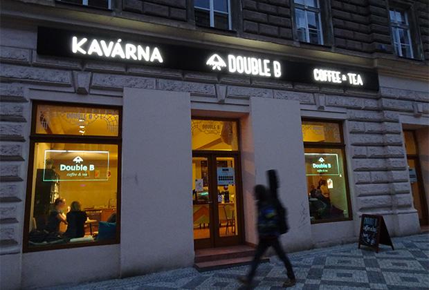 Кофейня «Даблби» в Праге