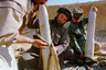 Taliban gunners clean 120mm tank shells Monday, Oct 8, 1996 before firing on enemy positions in the Panjshir valley. The Taliban continues to pursue the ex-government army following its capture of the Afghanistan capital, Kabul.(A P Photo/ John Moore)