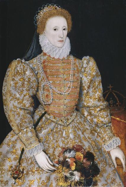Портрет британской королевы Елизаветы I, около 1575 года