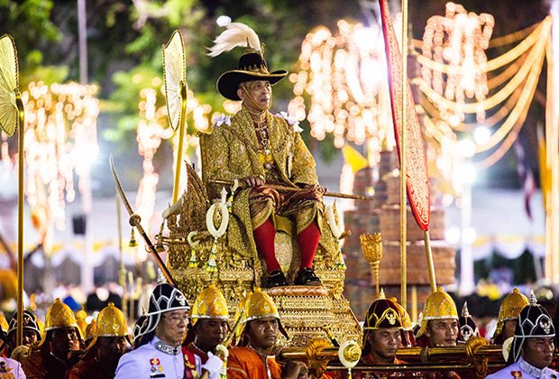 Коронация короля Таиланда Махи Вачиралонгкорна Рамы X