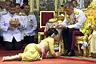 Тайский король Маха Вачиралонгкорн во время церемонии коронации
