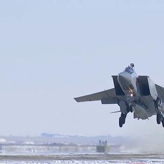 МиГ-31 с «Кинжалом»