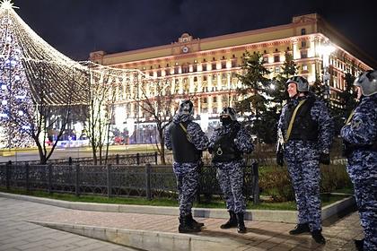 Силовики на Лубянке в день стрельбы, 19 декабря