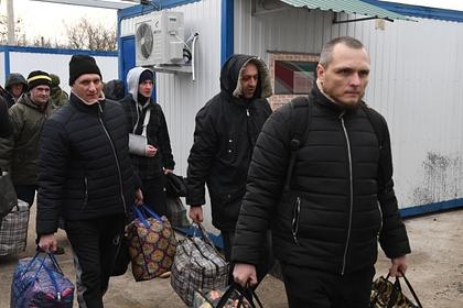 Пленные, возвращенные украинской стороной