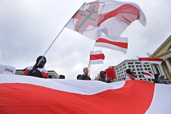 Акция против интеграции с Россией в Минске, 8 декабря 2019 года