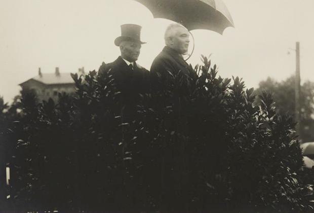 Константин Пятс выступает на сельскохозяйственной выставке, 1931 год