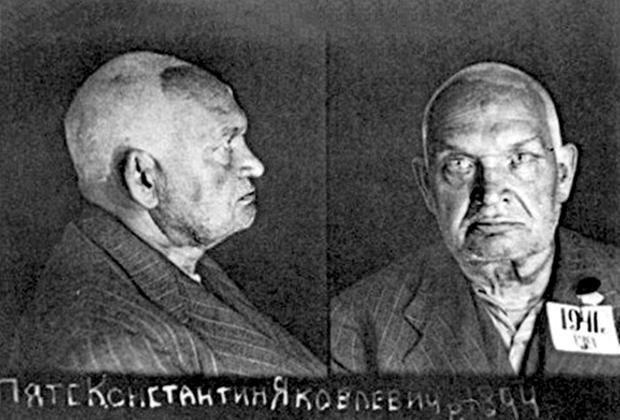 Фото Пятса из архивов НКВД, датированное 1941 годом