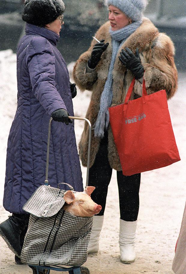 Москва, 1987 год