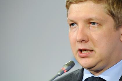 Глава «Нафтогаза» рассказал о буфере между «Газпромом» и Украиной