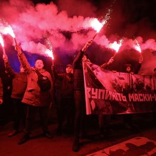 Акция «Бандера, вставай!» в Киеве в 2019 году