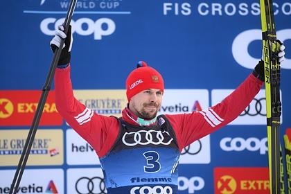 Устюгов занял второе место в гонке «Тур де Ски»