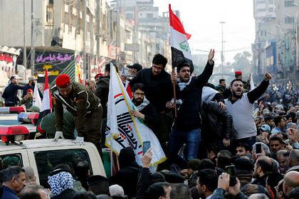Похороннная процессия в Ираке