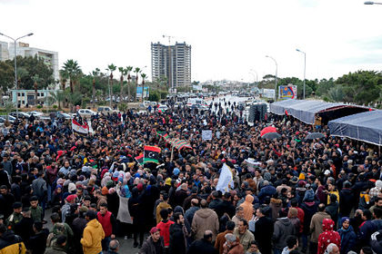 Протесты в Ливии