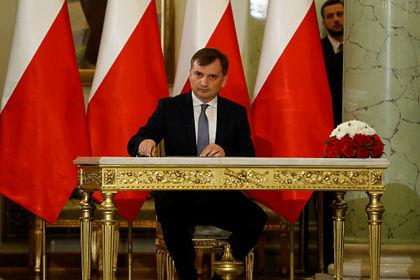 Министр юстиции, генеральный прокурор Польши Збигнев Зебро
