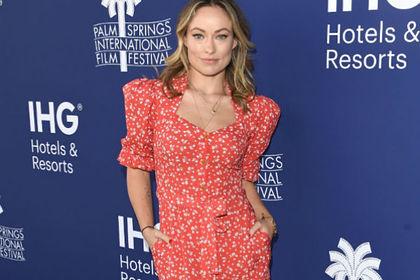 Голливудская актриса появилась на красной дорожке в платье российского дизайнера