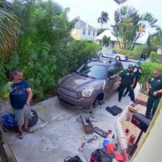 Кадр из видео с места происшествий
