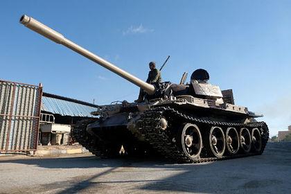 Члены Ливийской национальной армии (ЛНА)