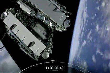 SpaceX Илона Маска вывела наорбиту 60 интернет-спутников Starlink